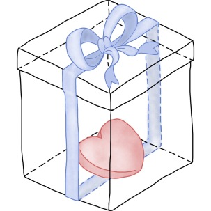 Heart in a box